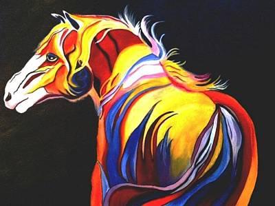 Horse #3 Original by Nidhi Khosla