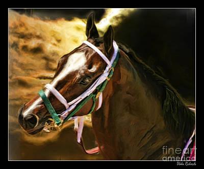 Horse Last Memories Print by Blake Richards