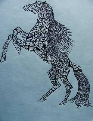 Horse Print by Lourents Oybur