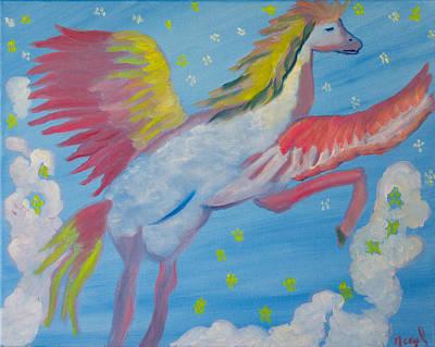 Gloria's Dream Pegasus Original by Meryl Goudey