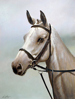 Mist Painting - Horse Portrait I by John Silver