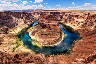 Boat Photograph - Horseshoe Bend by Alexis Birkill