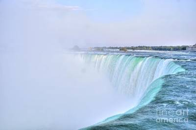 Horseshoe Falls Print by Kathleen Struckle