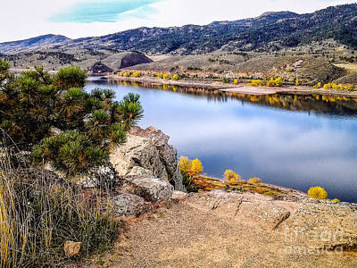 Horsetooth Autumn Print by Jon Burch Photography