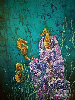 Horsin Around Print by Sue Duda