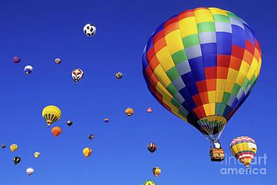 Fiesta Photograph - Hot Air Balloons 15 by Bob Christopher