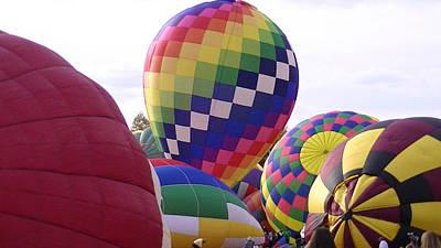 Hot Air Balloons Print by Lee Hartsell