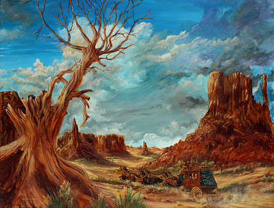 Southern Utah Painting - Hot And Dusty by Robert Wright