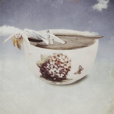 Hot Bath Print by Joana Kruse