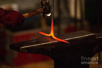 Hot Iron  Print by Iris Richardson