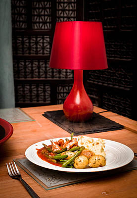 Steaming Photograph - Hot Meal by Tom Gowanlock