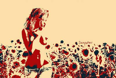 Hot Midday Print by Denis Galkin