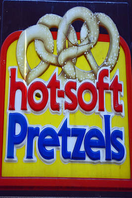 Hot Pretzels Print by Skip Willits