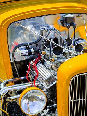 Hot Rod Photograph - Hot Rod by Bill Wakeley