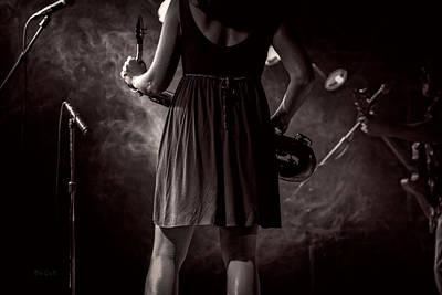 Jazz Photograph - Hot Summer Night by Bob Orsillo