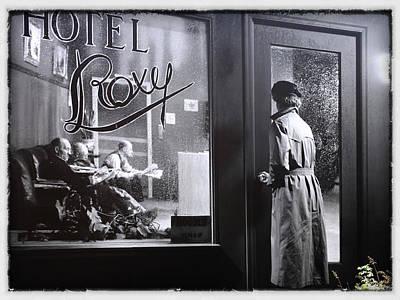 Jim Nelson Photograph - Hotel Roxy by Jim Nelson