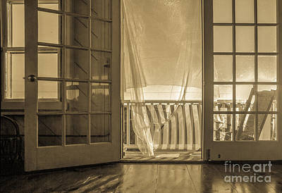 Rocking Photograph - House At The Beach by Diane Diederich