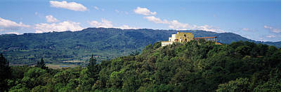 Napa Photograph - House At The Hilltop, Napa Valley by Panoramic Images