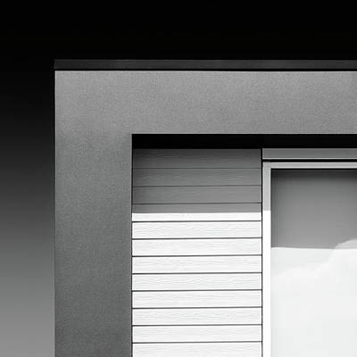 Abstract Forms Photograph - House Corner by Dave Bowman