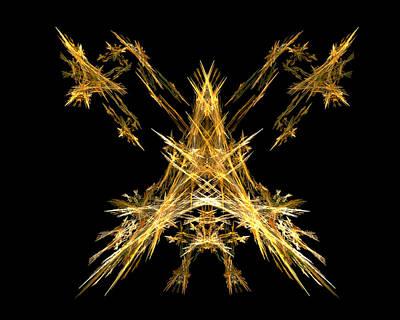 Creature Digital Art - House Of Lightning  by R Thomas Brass