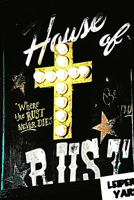 House Of Rust Print by Chastity Hoff