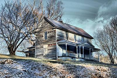 Haunted House Photograph - House On The Hill by Carol R Montoya
