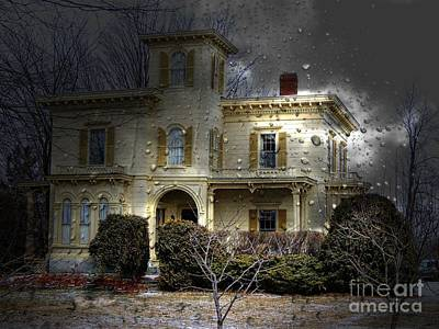 House On The Hill Photograph - House On The Hill by Marcia Lee Jones