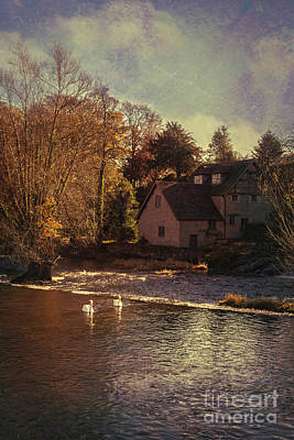 House On The River Print by Amanda Elwell
