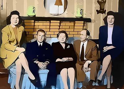 House Party Print by Steven Weakley