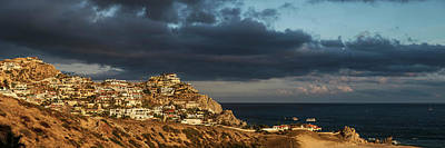 Pueblo Architecture Photograph - Houses On The Coast, Pueblo Bonito by Panoramic Images