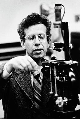 Howard Temin Print by National Library Of Medicine