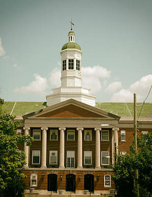 Howard University Library Print by Mountain Dreams