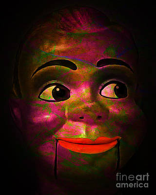 Haunted Digital Art - Howdy 20150102 V2 by Wingsdomain Art and Photography