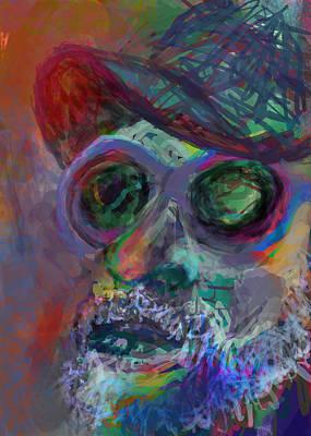 Friendly Digital Art - Howdy by James Thomas