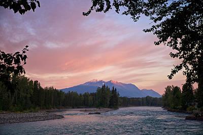 Hudson Bay Mountain British Columbia Print by Mary Lee Dereske