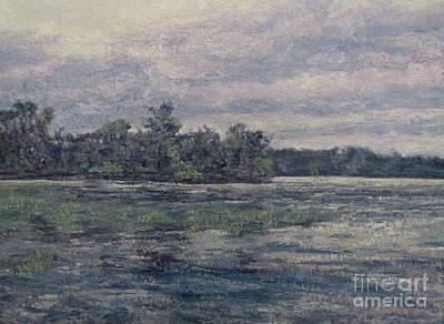 Painting - Hudson River Dusk by Gregory Arnett