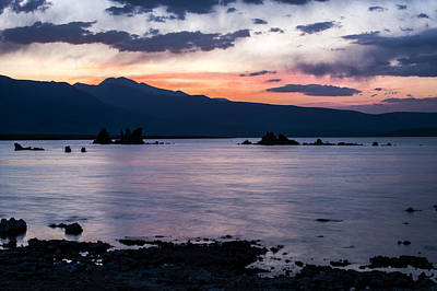 Hues Of Mono Lake Print by Cat Connor
