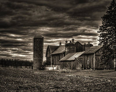 Huge Wisconsin Farm Print by Thomas Young