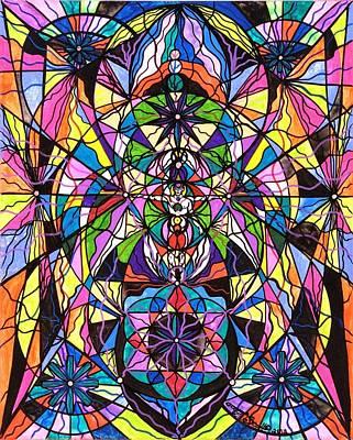 Human Ascension Print by Teal Eye  Print Store