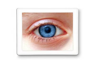 Human Eye Photograph - Human Eye by Victor De Schwanberg