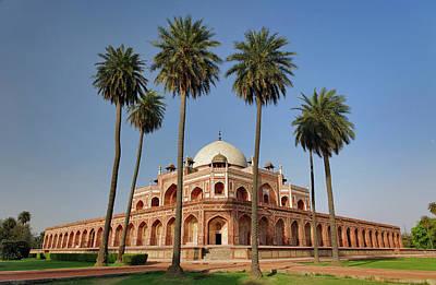 Tomb Photograph - Humayun's Tomb, Delhi, India by Adam Jones