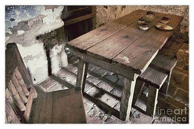 Humble Table Print by John Castell