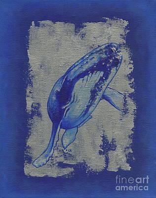 Humpback Whale Print by Konni Jensen