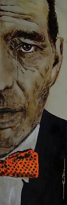 Painting - Humphrey  Bogart #2 by Eric Dee