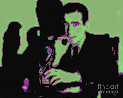 Humphrey Bogart And The Maltese Falcon 20130323 Print by Wingsdomain Art and Photography