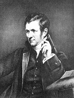 Humphrey Davy Print by Science Photo Library