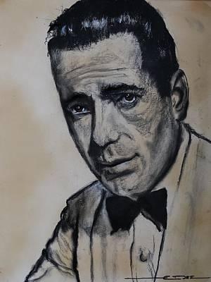 Drawing - Humphrey Deforest Bogart -1  by Eric Dee