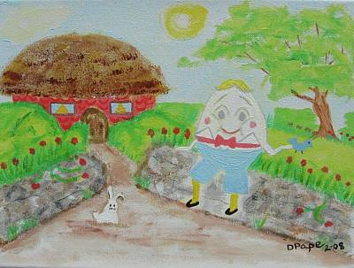 Humpty's House Original by Diane Pape