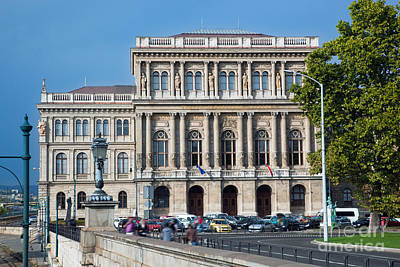 Study Photograph - Hungarian Academy Of Sciences In Budapest by Michal Bednarek