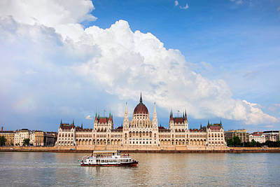 Budapest Sightseeing Tours Photograph - Hungarian Parliament Building by Artur Bogacki